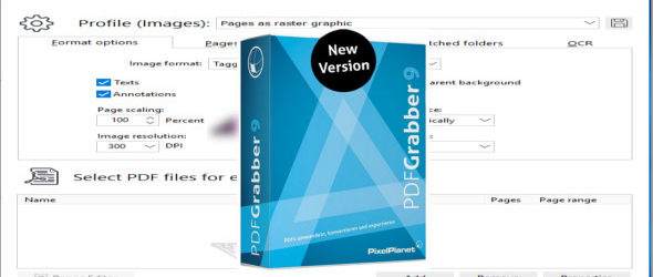 PixelPlanet PdfGrabber 9.0.0.8