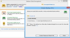 Rohos Disk Encryption 2.5