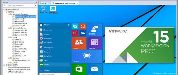 VMware Workstation Pro 15.0.3 Build 1242