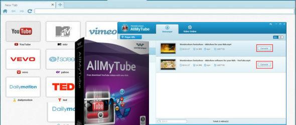 Wondershare AllMyTube 7.4.0.9